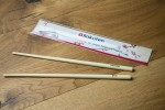 giveaway chopsticks with 2color print and branded packaging