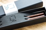 chopsticks with logo in gift box for JDI Japan Display