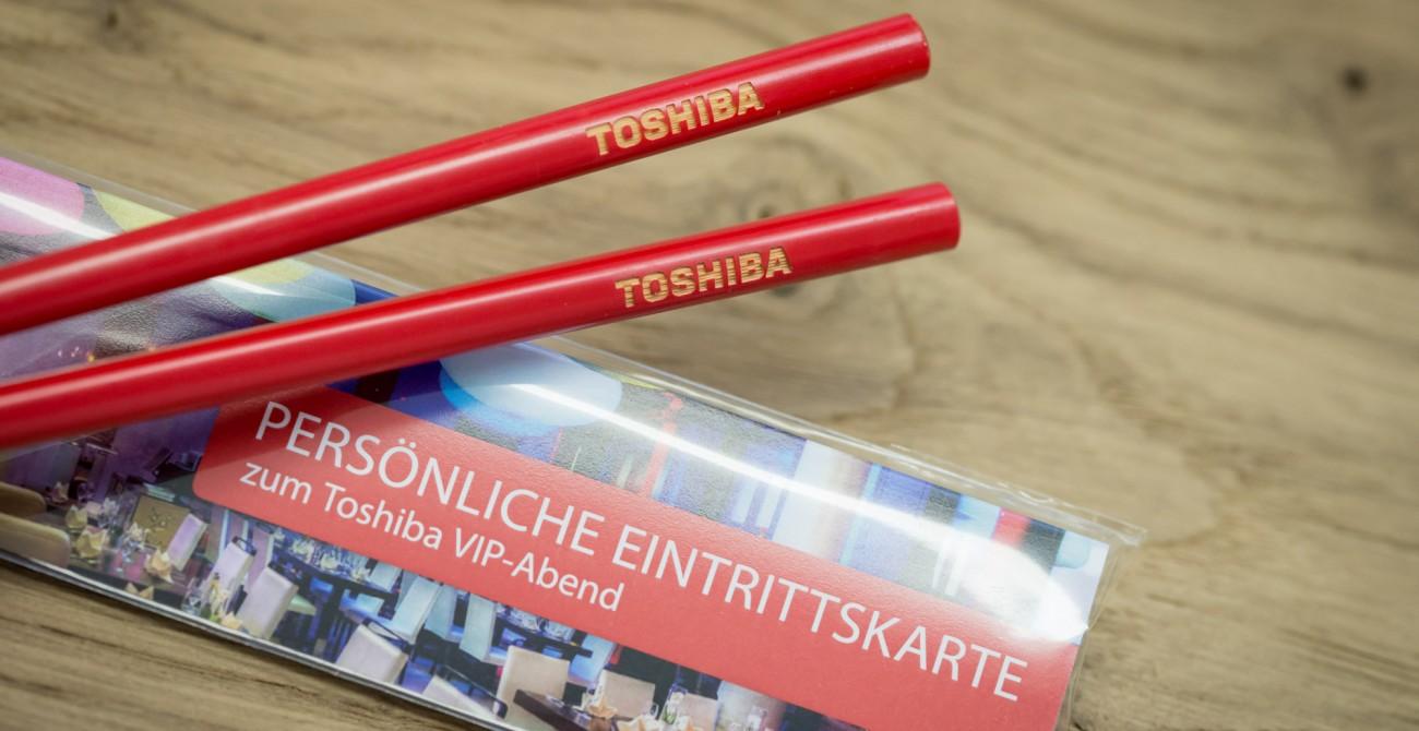 Chopsticks für Events
