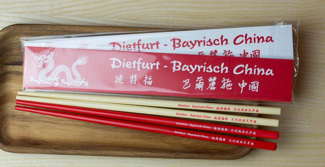 chopsticks as giveaway
